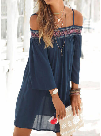 Solid Color Quick Dry Strap High Neck Sexy Bohemian Vintage Cover-ups Swimsuits